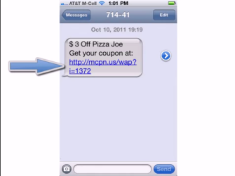 sms mobile coupons