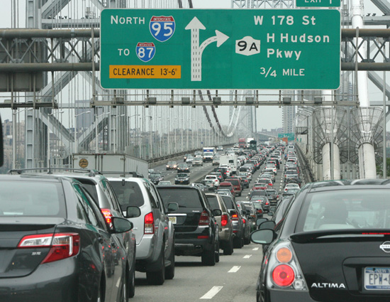 bridgegate george washington bridge traffic jam chris christie new jersey